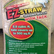 ez-straw seeding mulch
