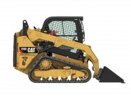 cat 259d for rent at suburban landscape supply
