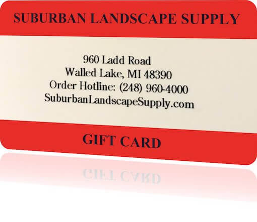 gift card for landscape supplies