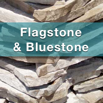 flagstone and bluestone for sale at suburban landscape supply