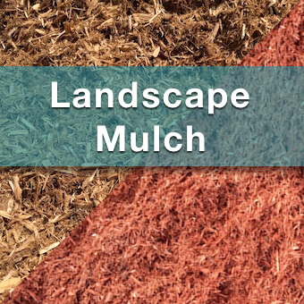 landscaping mulch available from suburban landscape supply