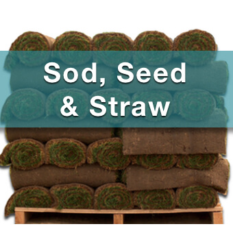sod-seed and straw for sale at suburban landscape supply